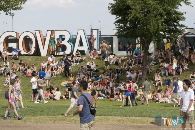 Govball NYC Sign
