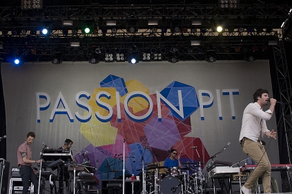 Passion Pit @ Downsview Park. July 12, 2013.