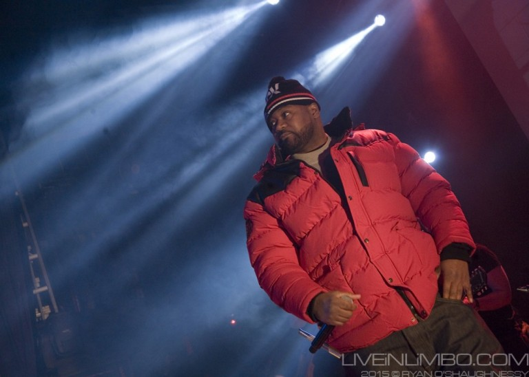 Ghostface Killah, playing a set to mark the release of their spectacular album Sour Soul. To see full set and review, click image above